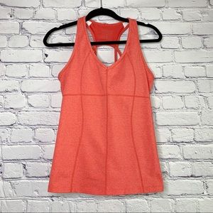Athleta | Coral Equator Strappy Tank Top | M